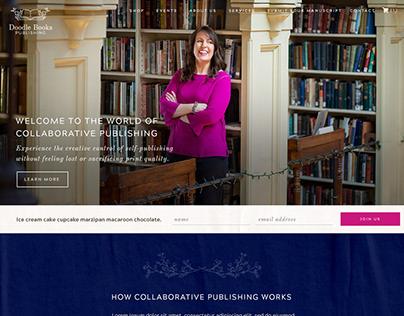 Doodle Books Publishing Ecomm Site