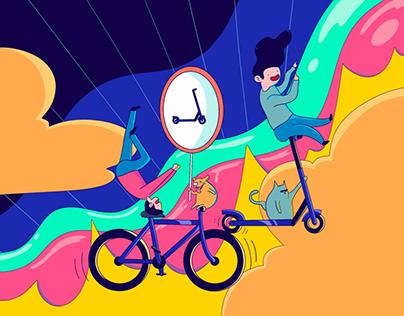 Bye Bicycle