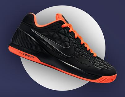 Nike web store concept
