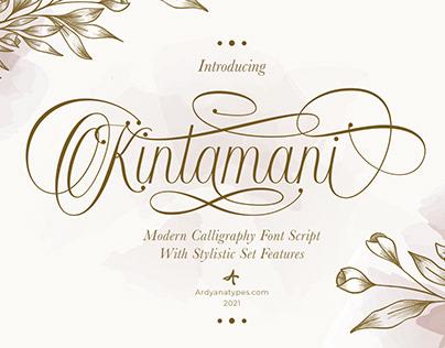 Kintamani Script Font