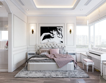 Bed room ~ Neoclassical style