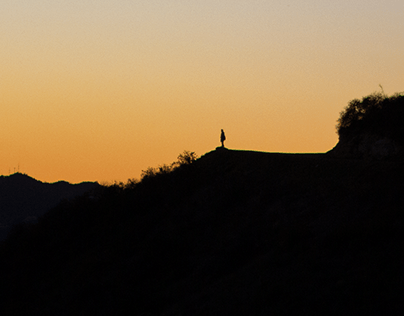 Sunset at Griffith Observatory, LA
