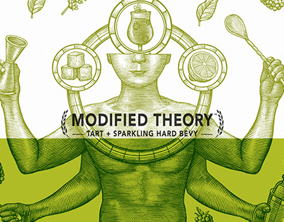 Modified Theory Packaging Illustrated by Steven Noble