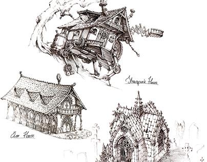 Fantasy Architecture TUTORIALS