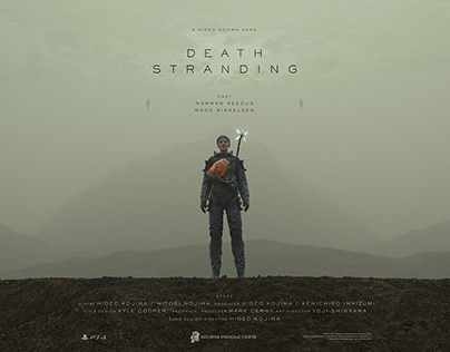 DEATH STRANDING - Sophie Rouaud