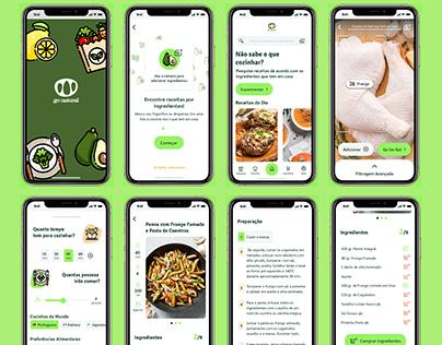 UX UI   Mobile App Proposal for Go Natural