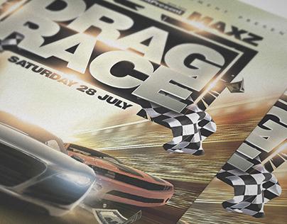 Drag Race Flyer Template