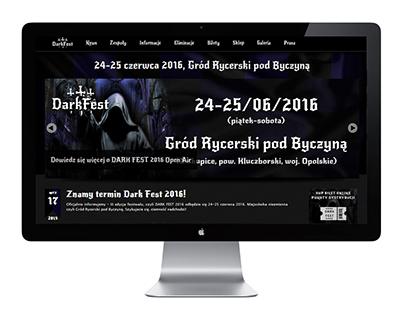 Website - Dark Fest (www.darkfest.pl)