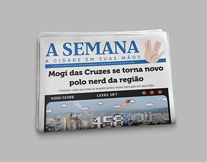 458 Anos de Mogi das Cruzes - Design Editorial