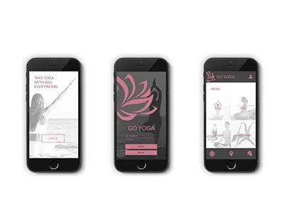 Go Yoga UI/UX Design