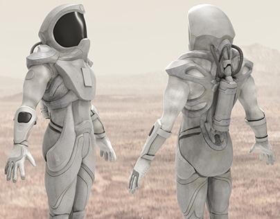 Mars Space Suit Concept