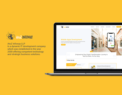 AtoZ Infoway Website Design