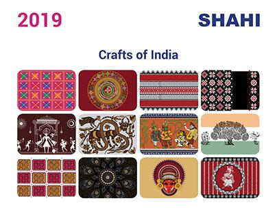 SHAHI : 2019 Calendar