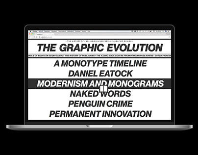 The Graphic Evolution — Website