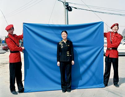 Beijing Blue - A contemporary portrait of China!