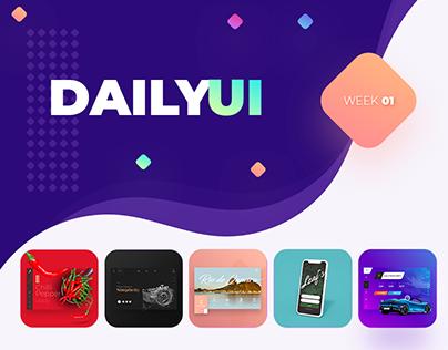 Daily UI: 01 - 05