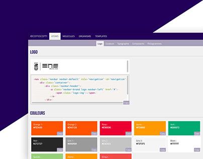 Design System | ENS Lyon