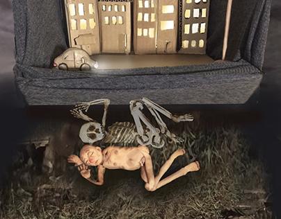 sculptural illustration