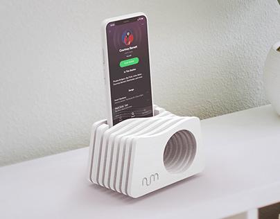 Phone Amplifier, Passive Speaker, Phone Dock