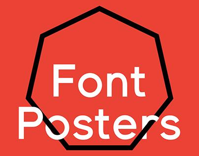Font Posters II