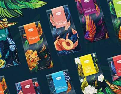Luave | Commercial tea packaging