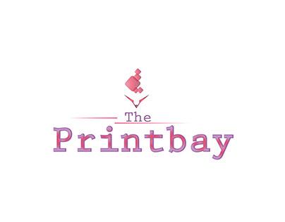 Minimalism. Printers logo