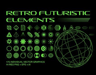 Retro Futuristic Elements