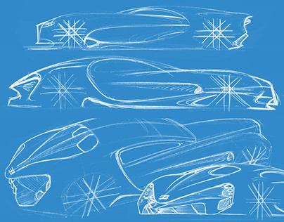 Sketchbook - Bugatti