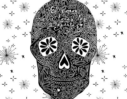 modern sugar skulls