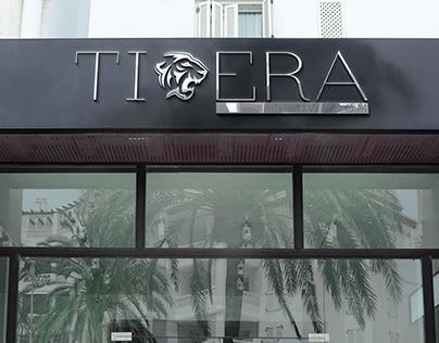 Дизайн лого модного бренда TIGERA