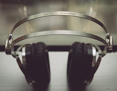 DJ Miss Yellow x LSTN Headphones