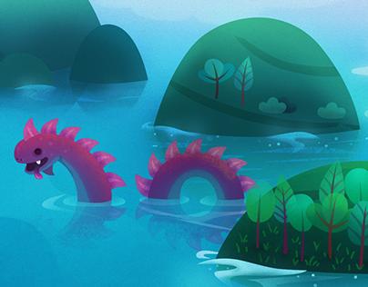 Islands & monster