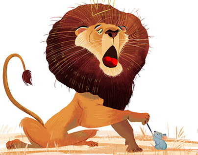 The lion and the mose