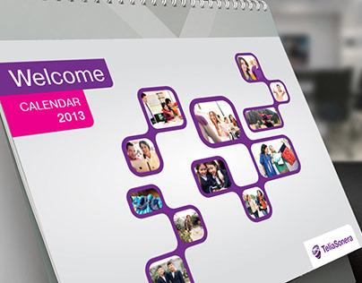 Teliasonera  2014-2015 New year corporate material
