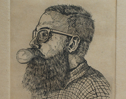 Collection of my etching portraits
