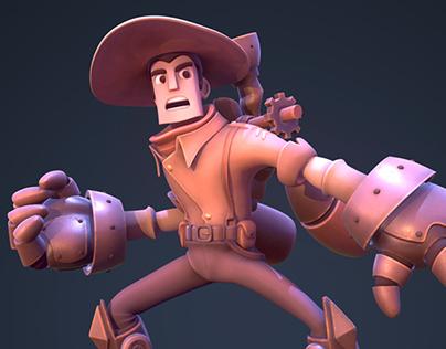 Steam Cowboy