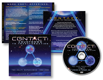 DVD Cover - Contact: Countdown to Transformation