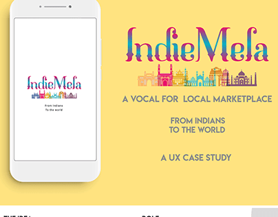 Indie Mela - Case Study and UI Design