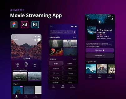 Aimove - Movie Streaming App