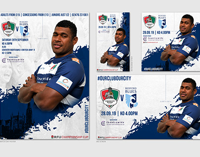 Coventry Rugby Club Official branding 19/20