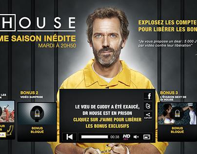 TF1/Dr House/s8 - Libérez Dr House et ses vidéos