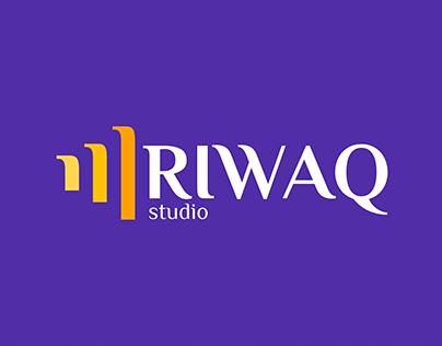 RIWAQ studio Brand design version 0.1