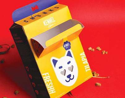 Kennel Kitchen Packaging Dog Food