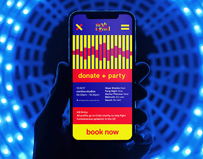 Musicians Against Homelessness –Event Identity