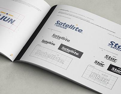 Sateliun. Manual de Identidad Corporativa