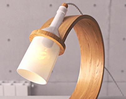 Corona Lamp