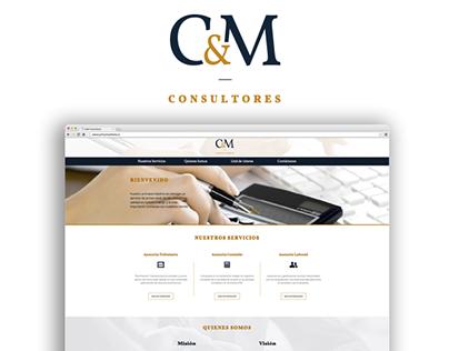 Web Corporativa CyM Consultores