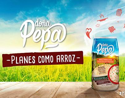 Arroz Doña Pepa - Activación de marca