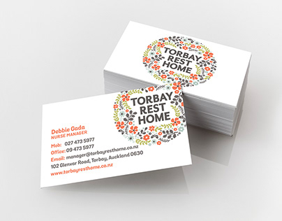 Branding Project for Torbay Rest Home