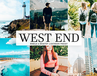 Free West End Mobile & Desktop Lightroom Preset